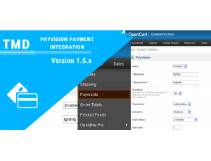 PayVision Payment Integration 1.5.x
