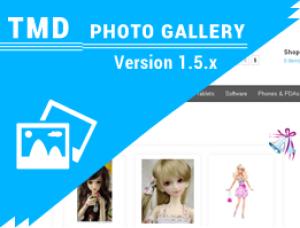 Photo Gallery Module 1.5.x