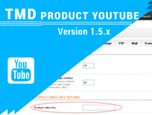 Product Youtube Video (Multilanguage Support) 1.5.x
