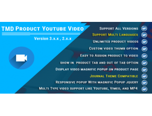 Product Youtube video (Multilanguage support) 2.x