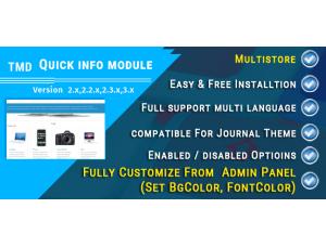 Quick Info Module