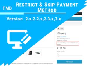 Restrict & Skip Payment Method