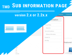 Sub Information Pages