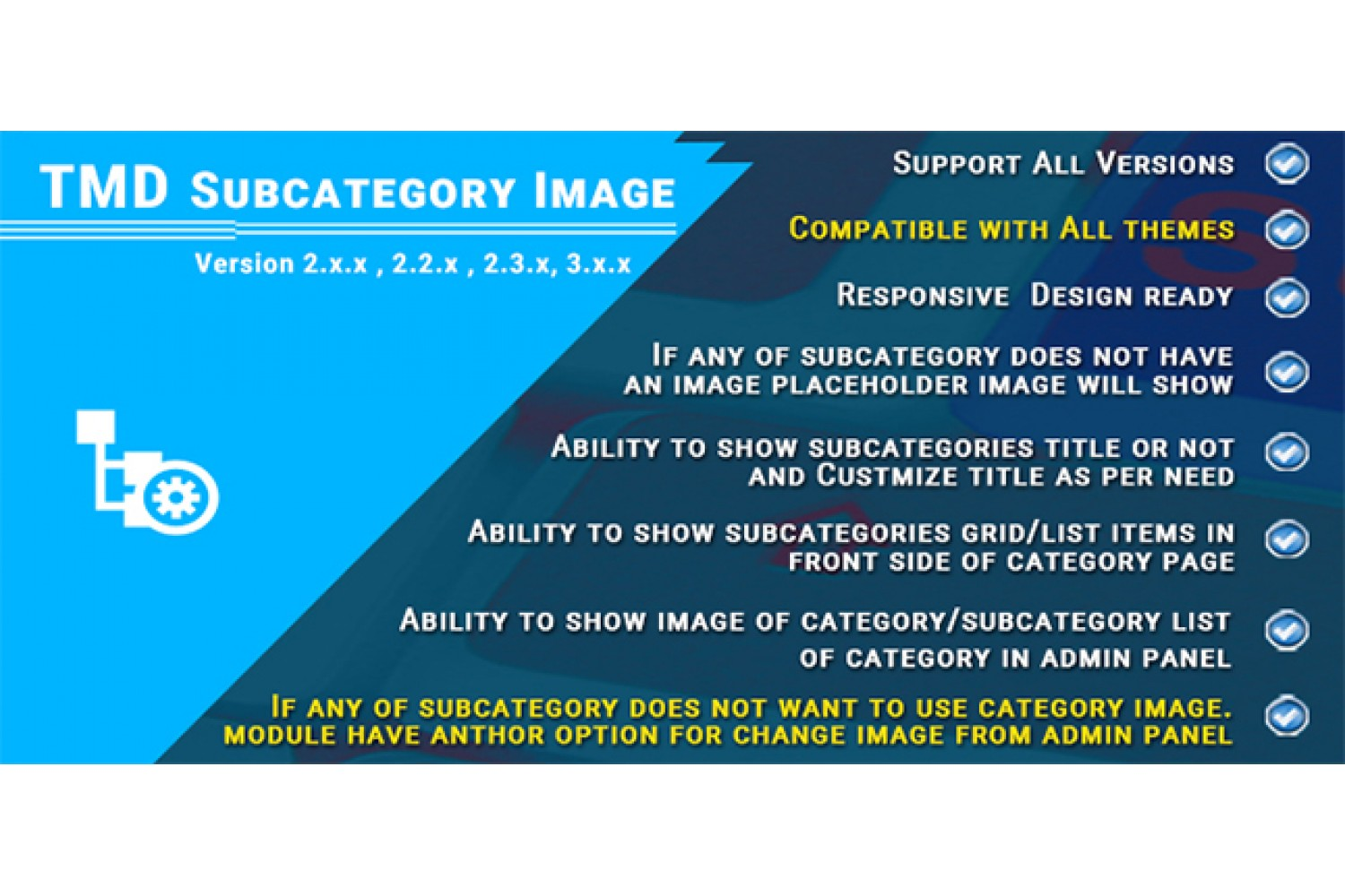 Subcategory Image Module 2 x