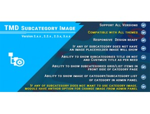Subcategory Image Module  (2.x & 3.x)