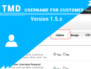 Username for customer 1.5.x