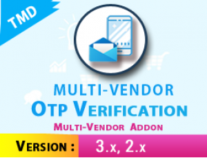 Multivendor OTP Verification ADDON